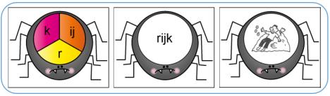 Taal - Match - Spinnen - Kern 3