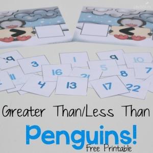 Vergelijken - 10-20 - Pinguïns