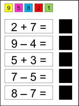 Wiskunde_Bewerkingen_Knijpkaart 2