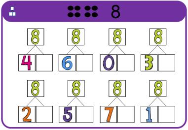 Magnetische rekendoos - splitsen tot 10